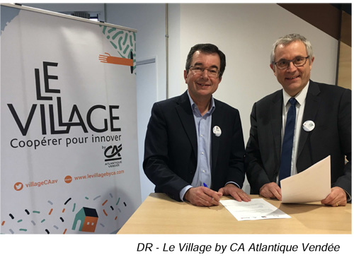 2017 12 18 Signature partenariat HERIGE et VILLAGE BY CA ATLANTIQUE VENDEE 1
