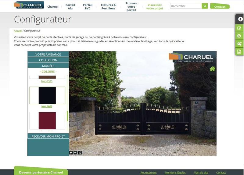 Nouveau configurateur en ligne pour imaginer son portail for Configurateur cuisine en ligne