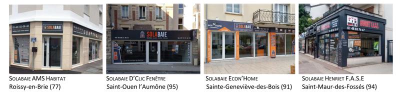 quatre nouveaux magasins solabaie en ile de france herige. Black Bedroom Furniture Sets. Home Design Ideas